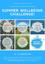 It's here! - The Summer Wellbeing Challenge 2017