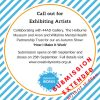 Call Out for Exhibiting Artists – Deadline extended