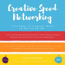 Creative Speed Networking Event - 31 August,Bath
