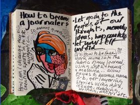 The Art of Creative Journaling with artist Jill Carter