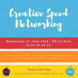 Creative Speed Networking: The £50 Give-Away!