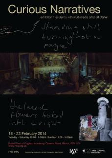 Check out Jill Carter's Curious Narratives Exhibition