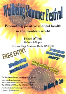 Fancy getting involved in a Wellbeing Festival?