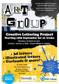 Creative Lettering Project *STILL PLACES AVAILABLE*