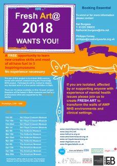 FreshArt@ 2018 Programme