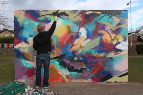 Artist Profile: Luke Palmer, Artist & Collaborative Painter