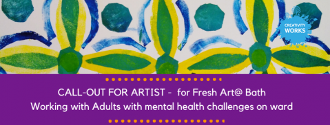 Job Opportunity: On Ward Artist for FreshArt@ Bath